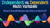 Independent vs. Dependent Variables in Math PowerPoint