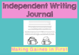 Independent writing journal