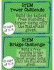 Index Card STEM Challenge Pack