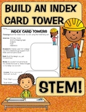Index Card Tower STEM Challenge; using Problem Solving and Cooperation