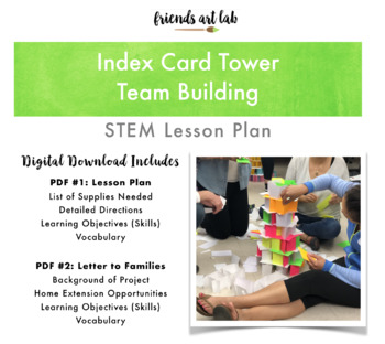 Index Card Tower - Team Building