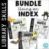 Index in the School Library Media Center: BUNDLE