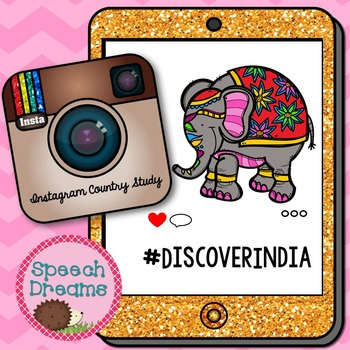 India Country Study {Facts Literacy Social Studies Project} Instagram