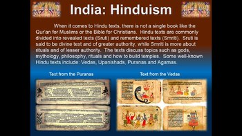 India! (ALL 4 PARTS) visual, engaging, textual 52-slide PPT