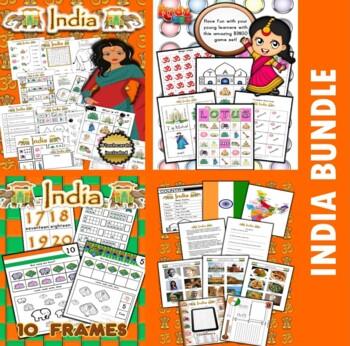 India Classroom Center Activity Bundle
