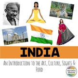 India: An Introduction to the Art, Culture, Sights, and Food