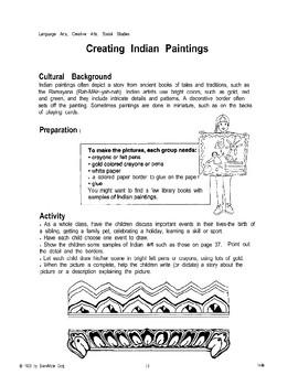 India: Art, Music, and Divali