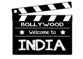 India Bollywood sign