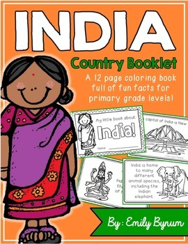 India Booklet (A Country Study!)