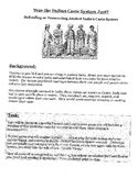 India Caste System: Was it Just? Simulation Activity/ Lesson Plan