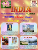 India  Geography and History  PowerPoint Presentation distance learning
