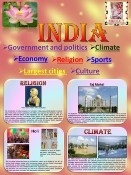India - Geography and History - PowerPoint Presentation