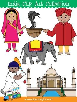 India Clip Art Collection