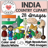 India Clipart (by Clipart That Cares