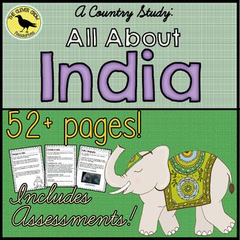 India Country Study Unit Plan - World Communities (Grade 3 Social Studies)