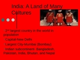 India: Culture & History Powerpoint