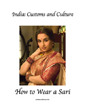 India:  Customs and Culture - How to Wear a Sari Competition