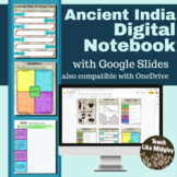 India Digital Interactive Notebook Activities