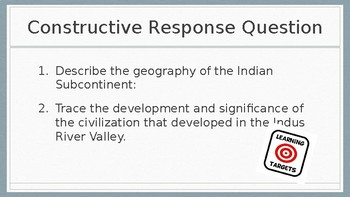 India Geography and Early Civilization PowerPoint Lecture