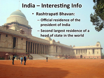 India PowerPoint Geography, History, Government, Economy, Culture, and More