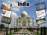 India PowerPoint Geography, History, Government, Economy,