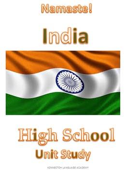 India HighSchool Unit Study