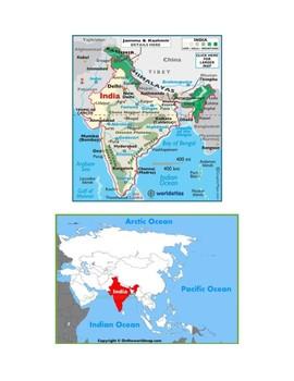 India Map Scavenger Hunt