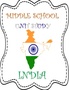 India MiddleSchool Unit Study