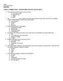 India Notes and Quiz - from Unit 1 of McGraw-Hill Grade 6