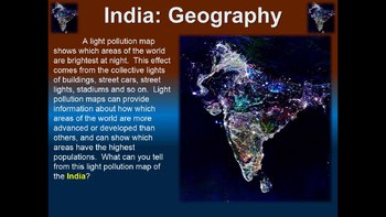 India! (PART 1: GEOGRAPHY) visual, engaging, textual PPT
