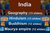 India! (PART 3: BUDDHISM) visual, engaging, textual PPT