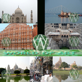 India Photo Clip Art Sampler