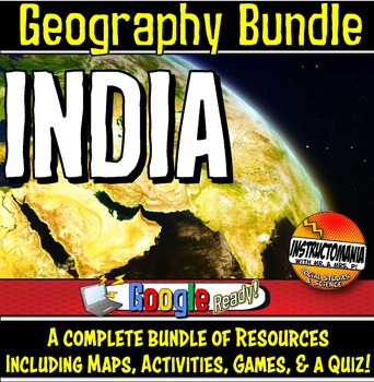 India Physical Geography Mini Bundle