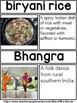 India Picture Word Wall