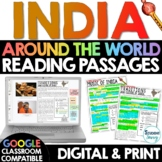 India Reading Passages Distance Learning Google Classroom
