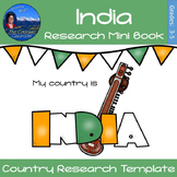 India - Research Mini Book