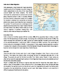 India: Rural Urban Migration
