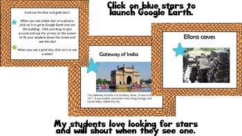 India Social Studies Lesson-Interactive Lesson Using Google Earth