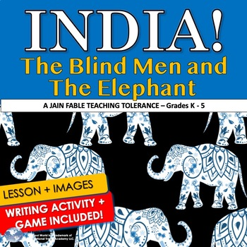 Character Education-Teaching Tolerance in the Classroom-Blind Men & The Elephant