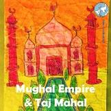 India! Taj Mahal - Mughal Empire Lesson, Love Story of Taj, Paper Batik Craft