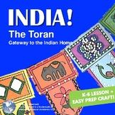 India! The Toran - Fun Door Decoration Craft, Printables, Lesson, PowerPoint
