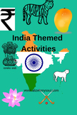 India Themed Activity for Toddlers
