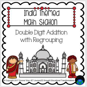 India Themed Addition Station
