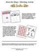 India Themed Bingo / Matching Activities