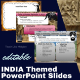 India Themed PowerPoint Slides