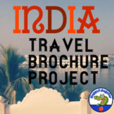 India Travel Brochure Project - Project Based Learning