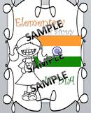 India Elementary Unit Study