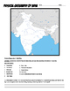 India Where in the World Scavanger Hunt & Map Activity Phy