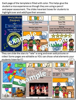 India World Music Digital Passport