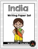 India Writing Paper Set